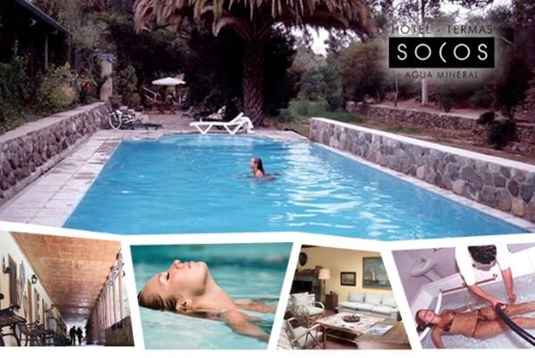 ovalle uf 40.000 hotel termas de socos y negocio agua mineral socos. espectacular oportunidad de comprar terreno de 25 hectáreas con las instalaciones hoteleras y la planta de embo...