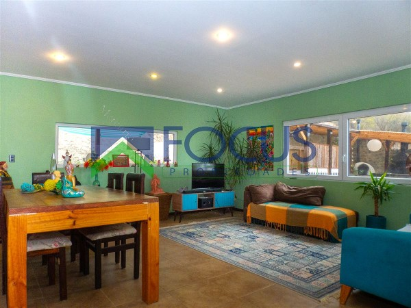 uf 8.860 casa en venta en curacaví 4 dormitorios 2 baños inmobiliaria focus e.i.r.l